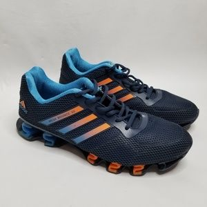Adidas Mega Bounce 3D Sneaker Size 10.5 Blue